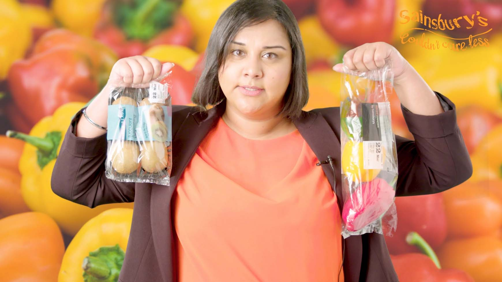 Image for Watch – Polly Ethelene defends Sainsbury's stance on plastic