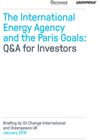 IEA report cover