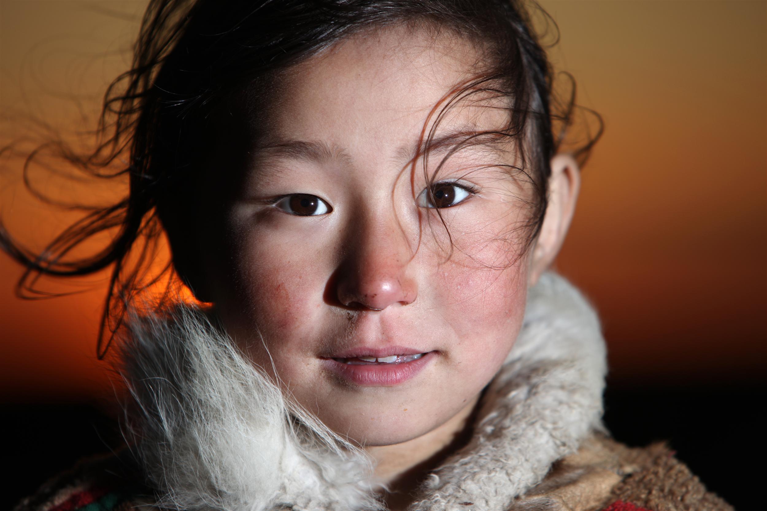 Indigenous girl
