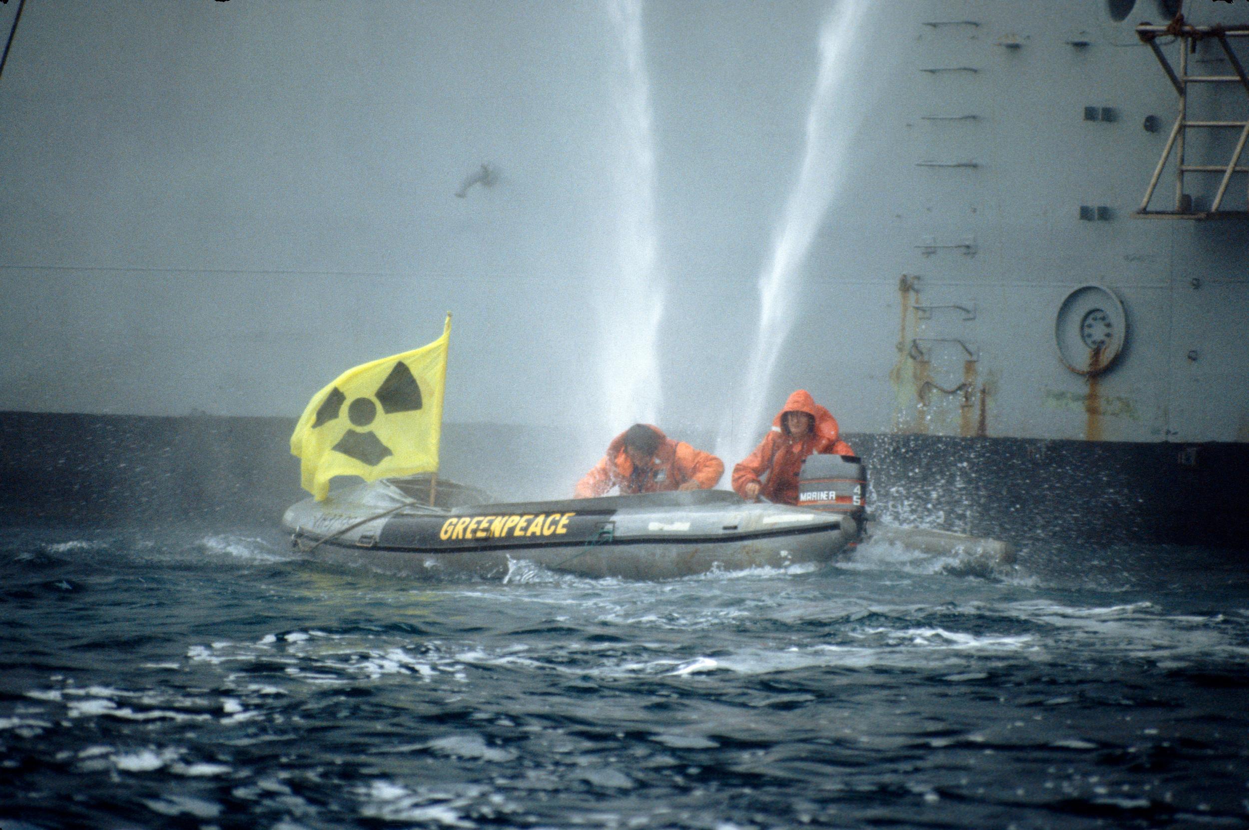 greenpeace boats