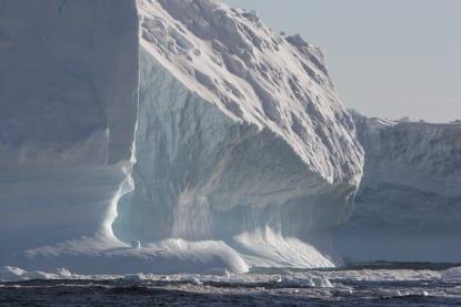 iceberg in water