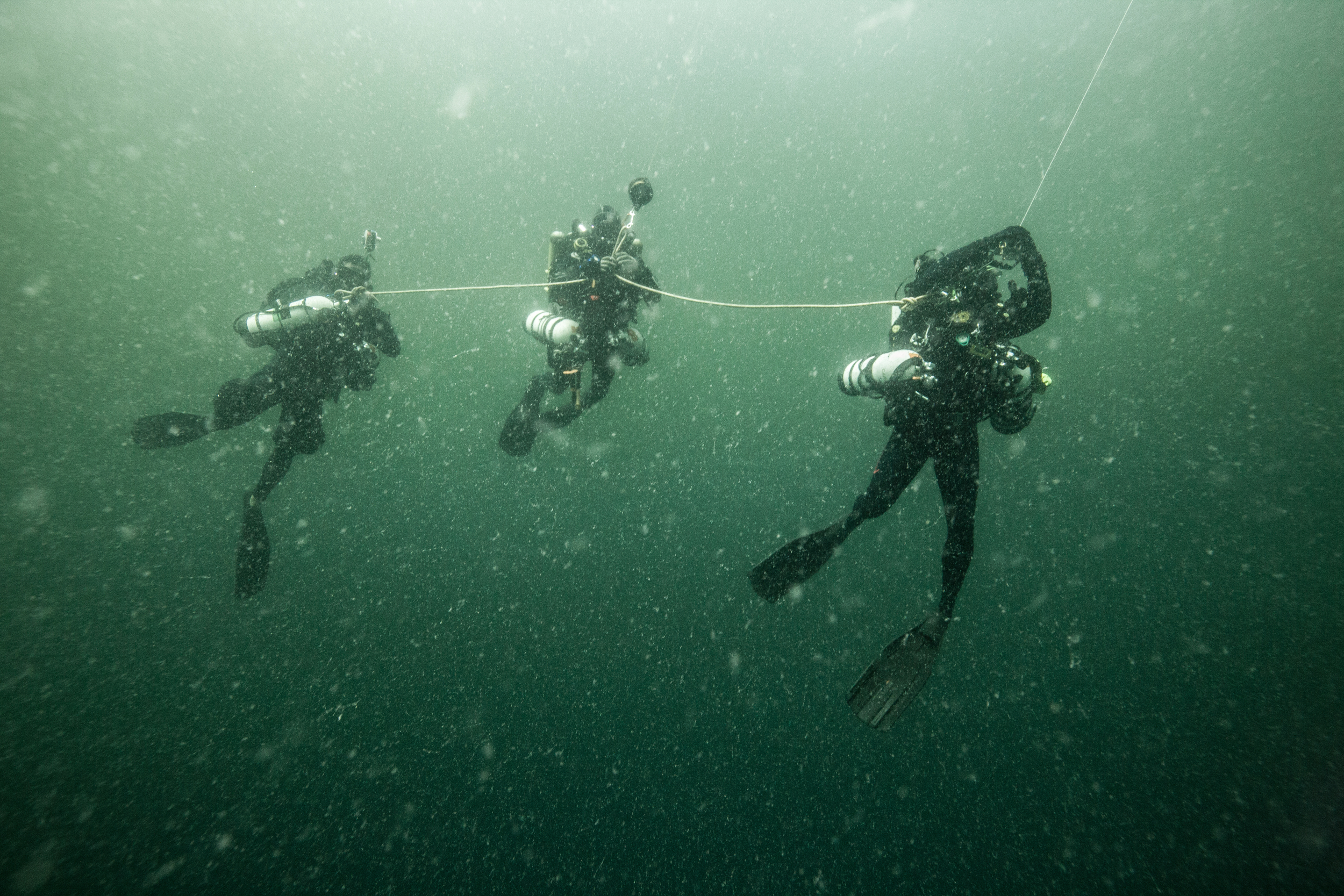 Deep Divers in the Amazon Reef