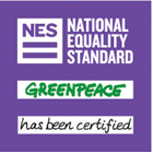 Greenpeace has been certified by the National Equality Standard